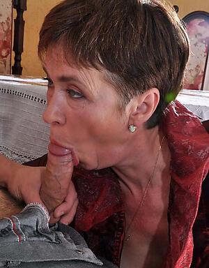 Blow job granny Swallow