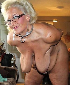 Tits saggy granny Old Women