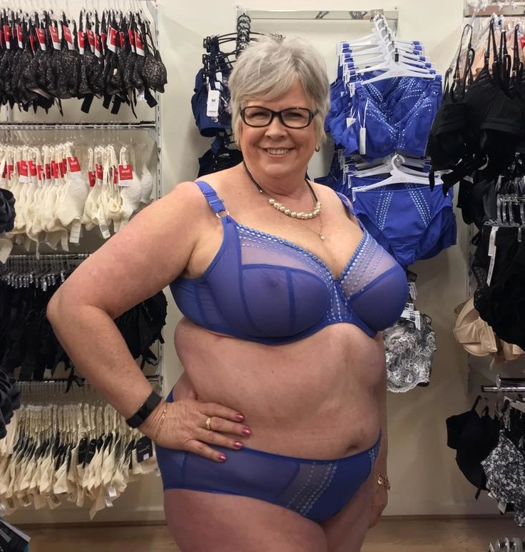Pictures chubby granny Fat, Naked