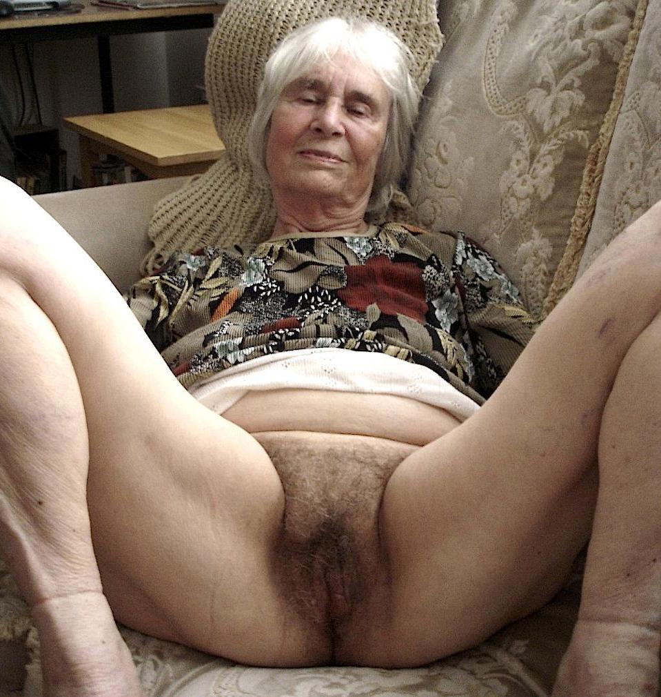 Nude hairy granny Hairy granny