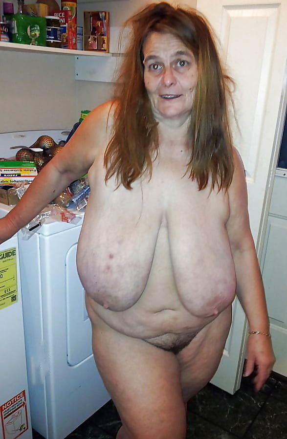 Granny boobs old The Sexually