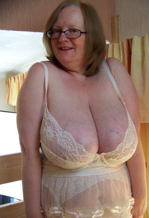 Boobs pics granny Fat Granny