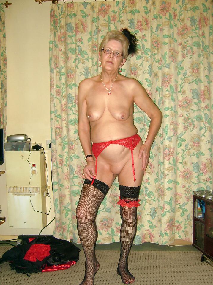 With tits granny small Granny Small