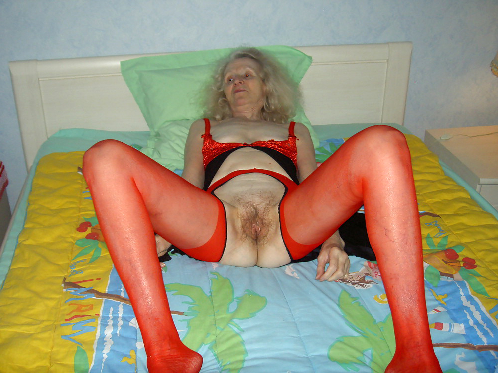 Slutty very old granny dealings picture