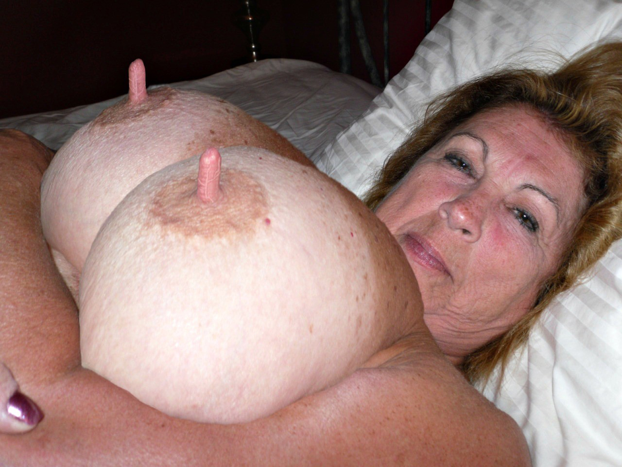 naked grannies with huge nipples porn pic