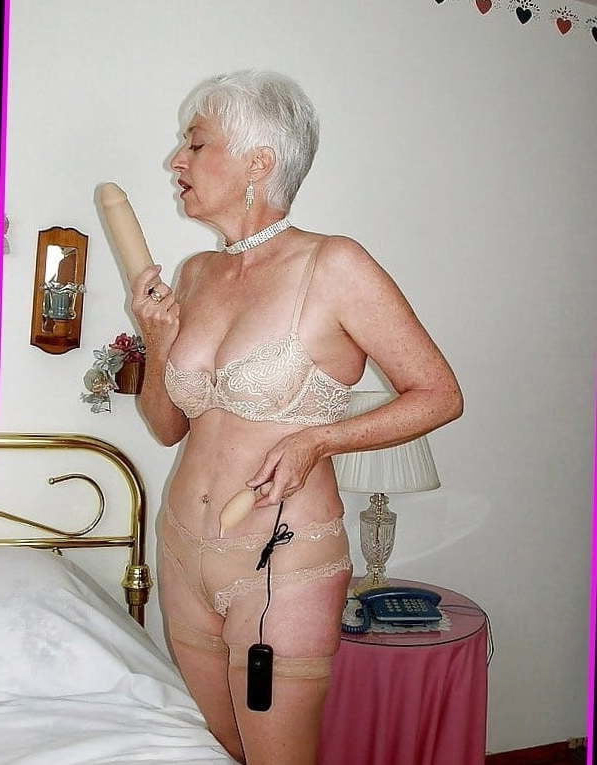Lingerie grannies in The wind