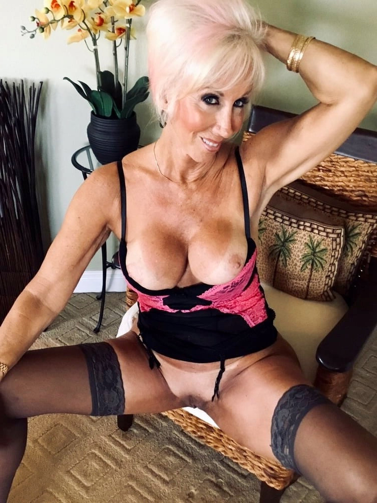 In lingerie grannies The Steamiest