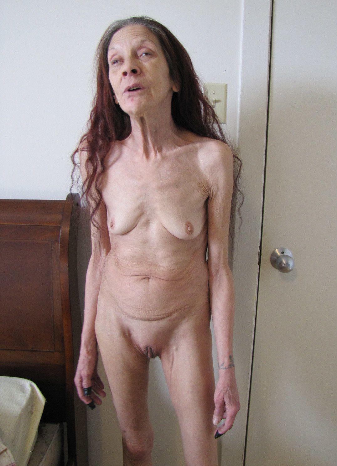 Skinny mature pic