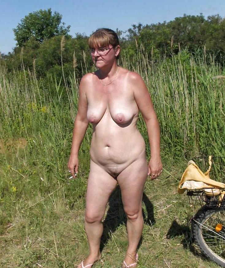 Older Women Stripping Nude