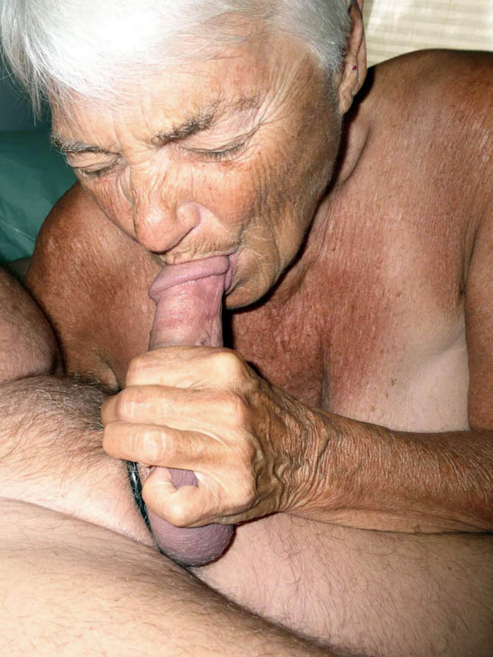 Old Woman Licks Young Pussy