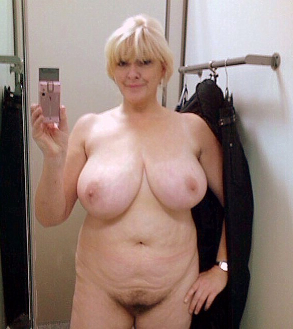 Mature selfie nude Older Mature