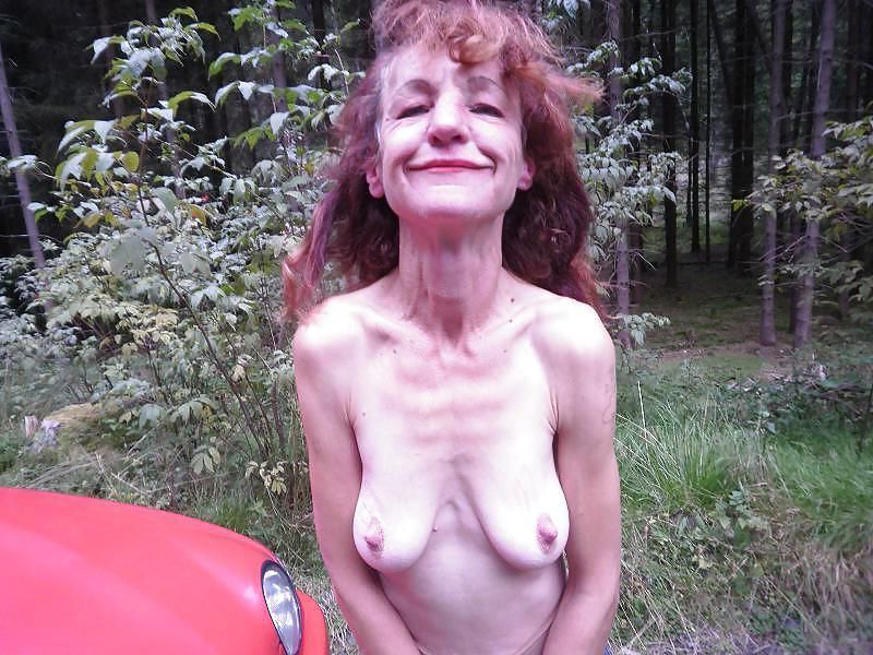 Granny nude skinny Hot Granny